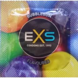 EXS Bubble Gum - смакові і запахові презервативи з ароматом жувальної гумки!